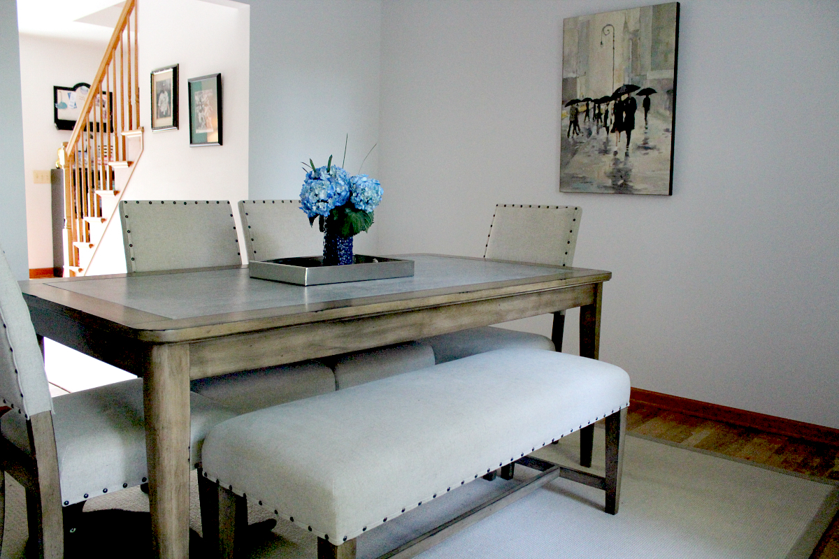 The Big Reveal Dining Room Makeover With Raymour Flanigan pertaining to 13 Some of the Coolest Initiatives of How to Makeover Raymour And Flanigan Living Room Set