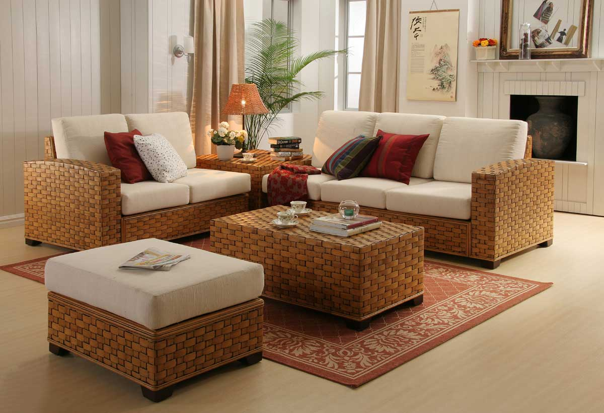 Tinoka Living Furniture Singapore within 13 Smart Ideas How to Craft Wicker Living Room Sets
