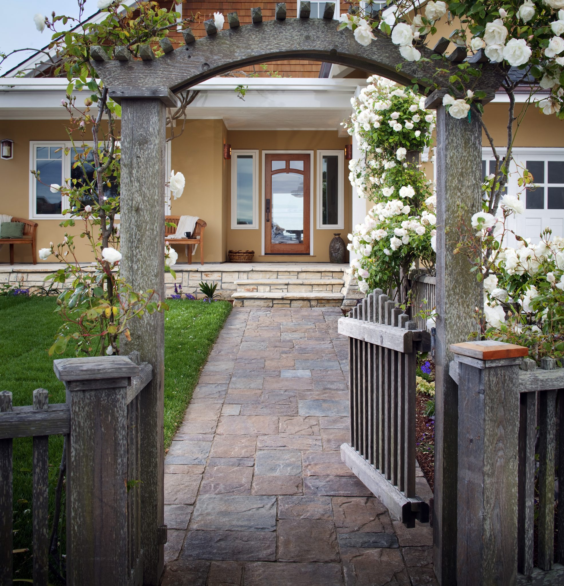 Walkway Materials Guide Top Ideas Designs Install It Direct throughout Backyard Sidewalk Ideas