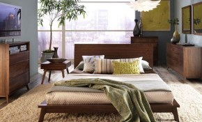 Walnut Mid Century Modern Bedroom Furniture Bedroom Sets Mid in 13 Genius Initiatives of How to Make Mid Century Modern Bedroom Sets
