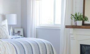 Woven Wood Shades The Best Window Treatments A Burst Of Beautiful intended for Modern Bedroom Window Treatments