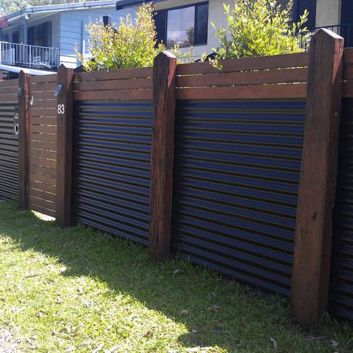 Yard Fencing 10 Modern Fence Ideas Family Handyman with Backyard Fence Ideas