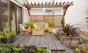 16 Simple Solutions For Small Space Landscapes regarding Landscaping A Small Backyard