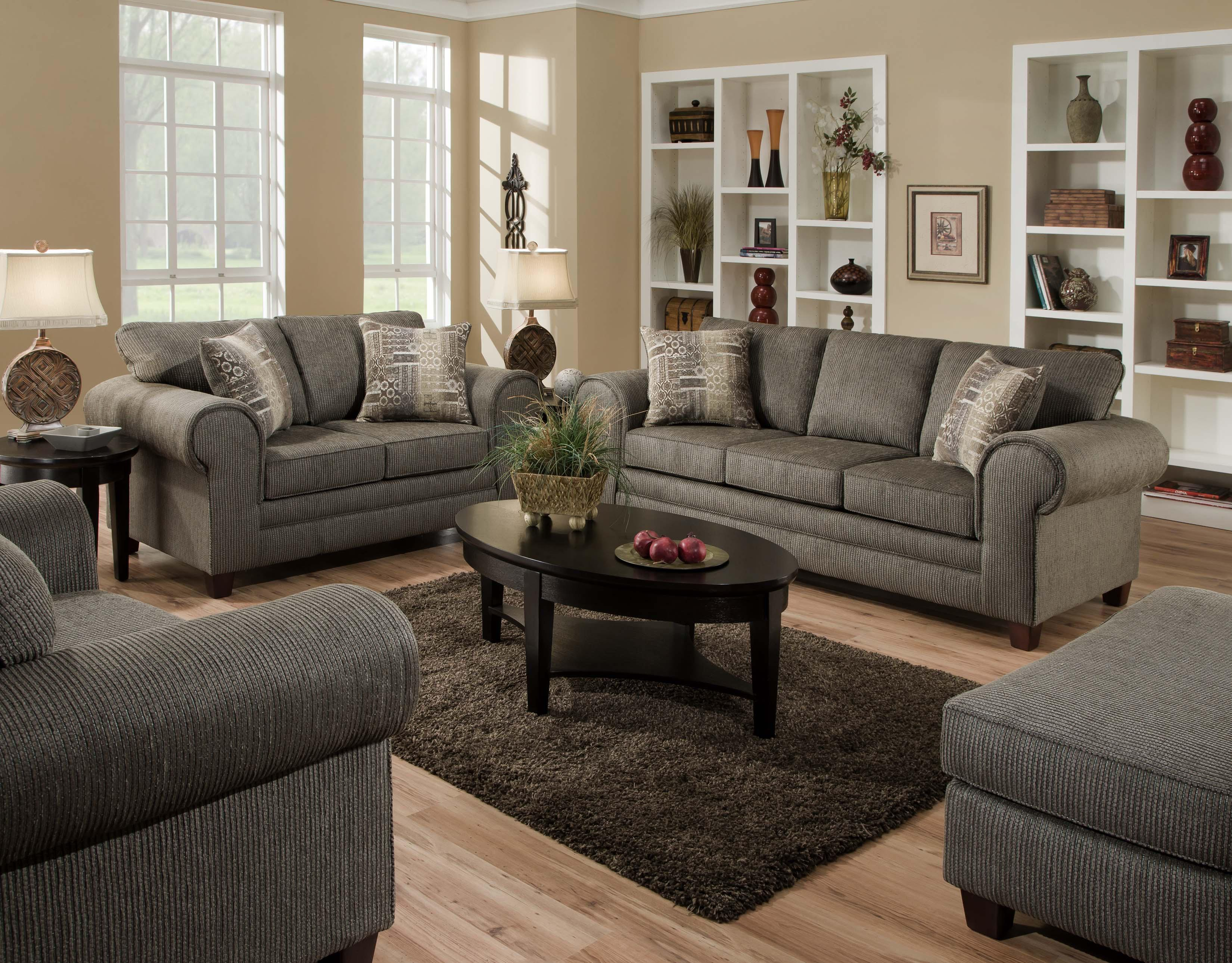 3750 Stationary Living Room Group American Furniture At Darvin Furniture with regard to The Dump Living Room Sets