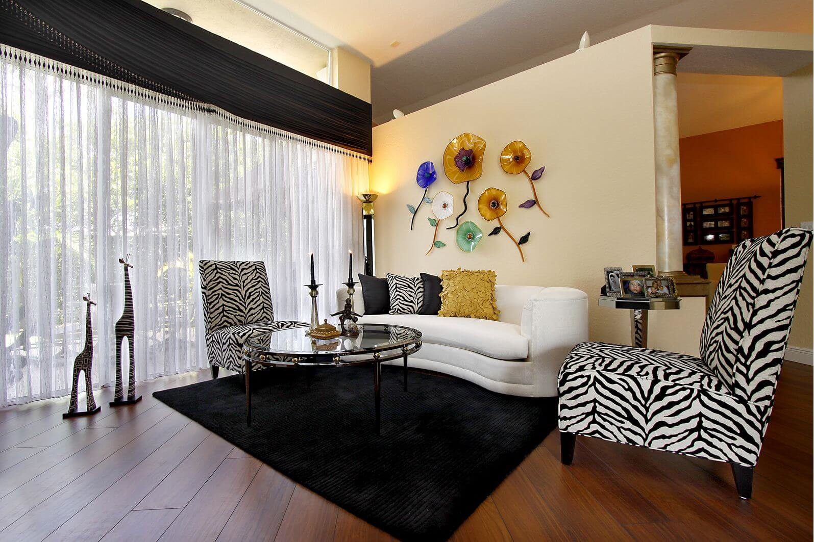 38 Enchanting Zebra Interior Decorating Ideas That Abound With with 12 Clever Initiatives of How to Improve Zebra Living Room Set