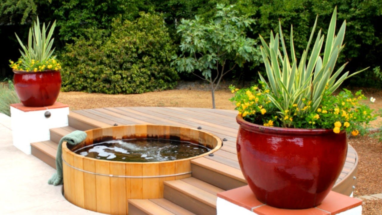 39 Impressive Outdoor Hot Tub Ideas with regard to Backyard Ideas With Hot Tub