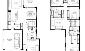 4 Bedroom House Designs 4 Bedroom House Plans 2 Story 3d Danish for 15 Smart Initiatives of How to Makeover 2 Bedroom Modern House Plans