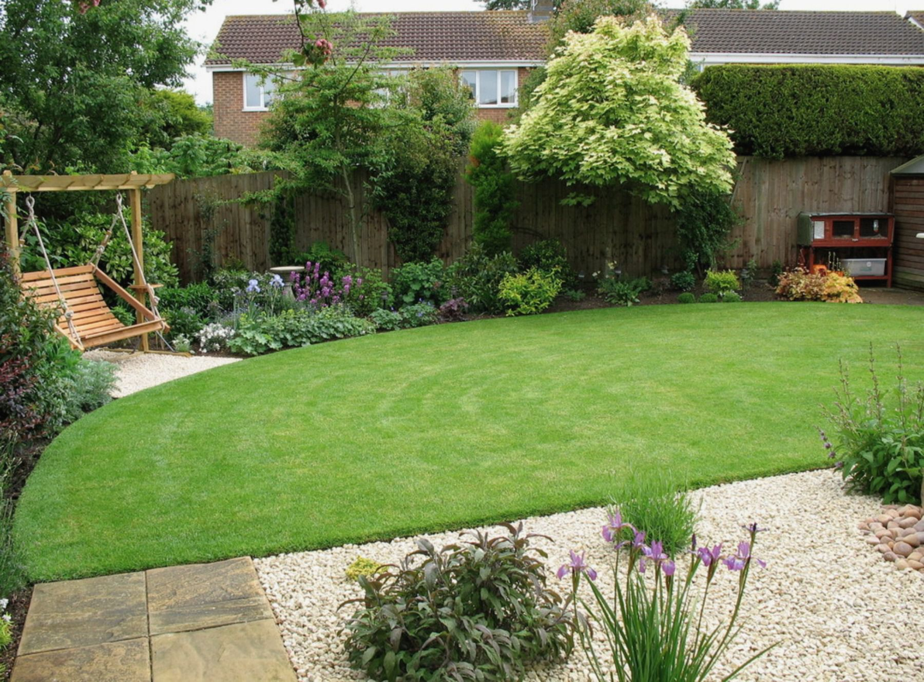 50 Backyard Landscaping Ideas To Inspire You within Backyard Landscapes