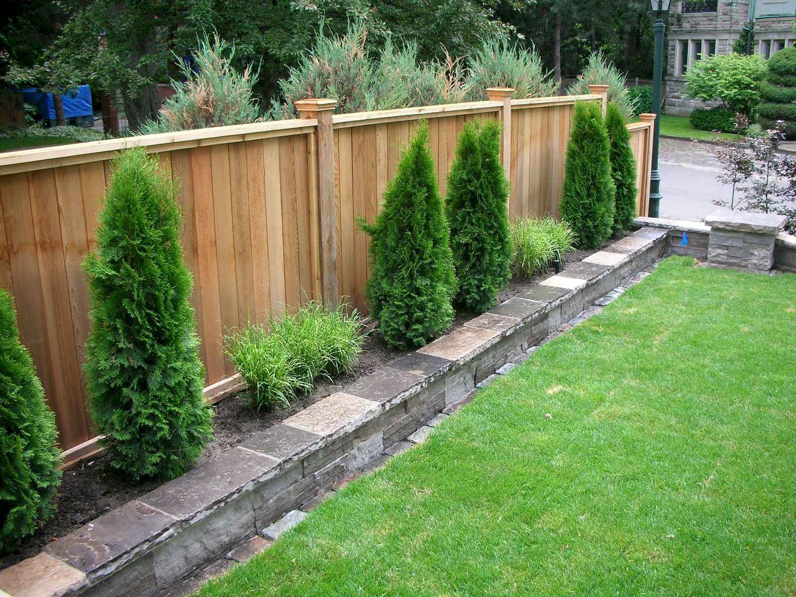 50 Stunning Backyard Privacy Fence Ideas Decorations And Remodel 3 regarding 16 Awesome Concepts of How to Upgrade Privacy Fence Ideas For Backyard
