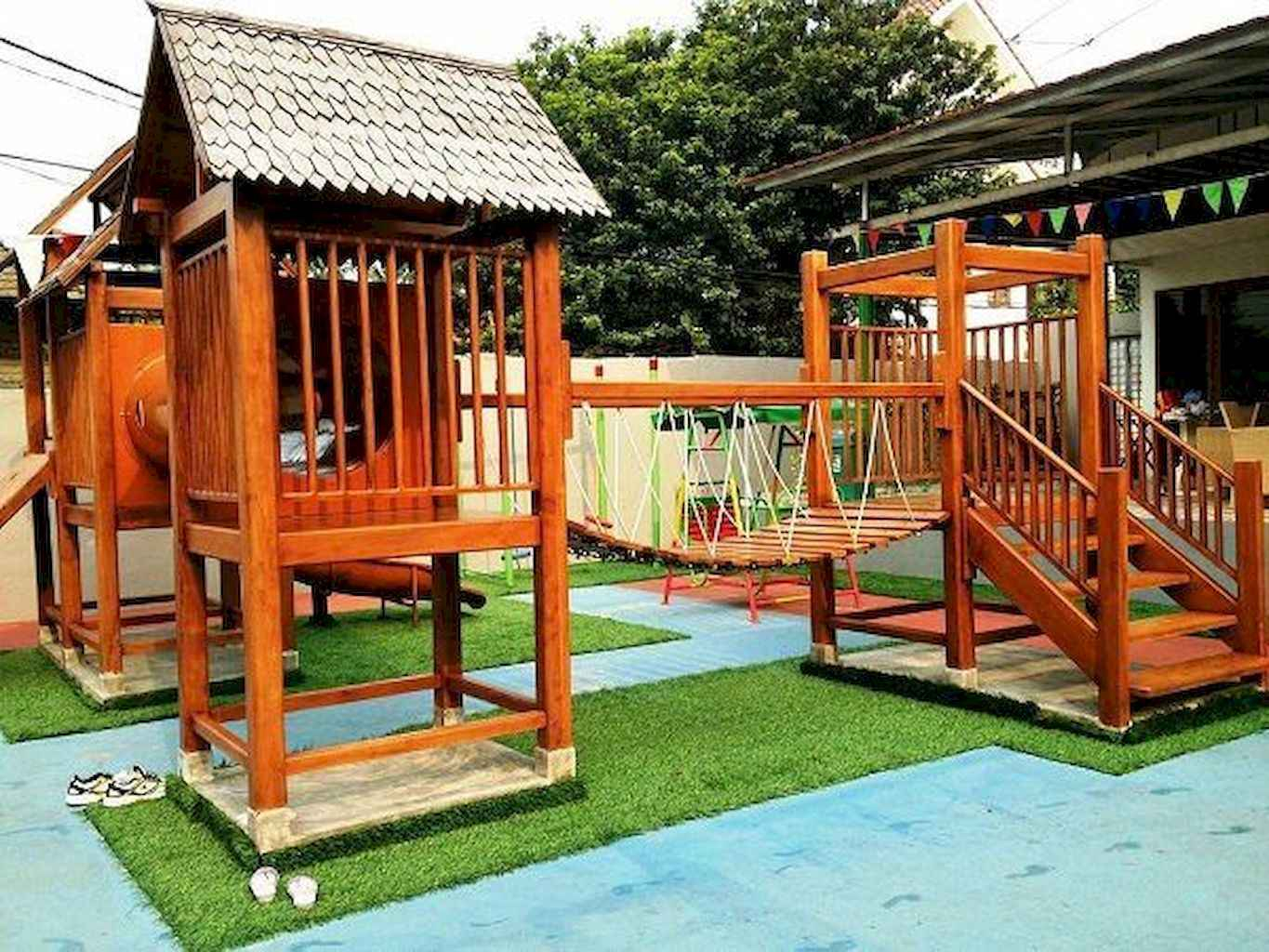 65 Creative Small Backyard Playground Kids Design Ideas Frontbackhome pertaining to 15 Some of the Coolest Initiatives of How to Upgrade Creative Backyard Playground Ideas