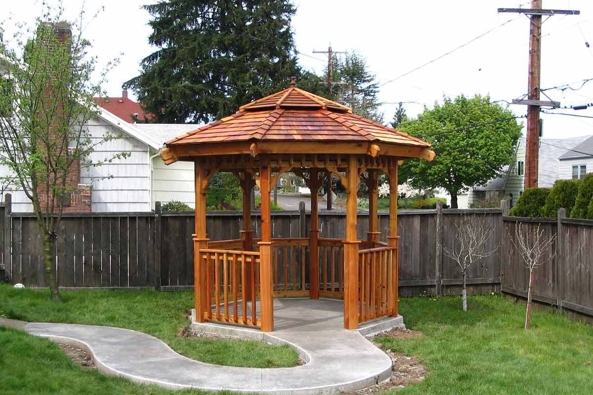 7 Backyard Gazebo Ideas For Sun Shade And Rain Shelter with regard to 13 Clever Concepts of How to Craft Ideas For Gazebos Backyard