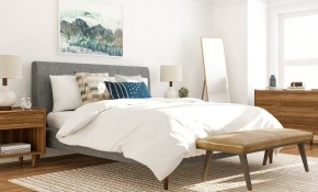7 Mid Century Modern Bedroom Ideas To Try In Your Space throughout 10 Awesome Ideas How to Craft Modern Pictures For Bedroom