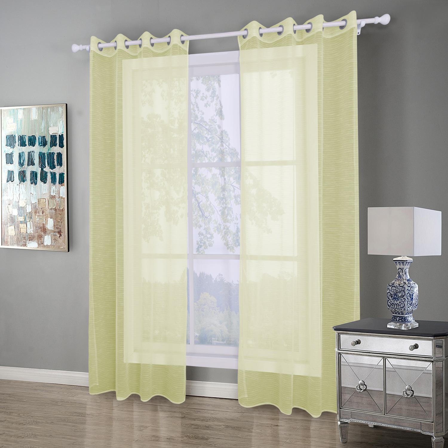 8005 Modern Sheer Curtains For Living Room Bedroom Curtains For Window Treatment Drapes Finished Blackout Sheer Curtains 1 Panel for 11 Smart Initiatives of How to Make Modern Window Treatments For Bedroom