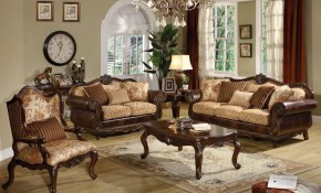Acme Furniture Remington 3pc Living Room Set In Bonded Leather Fabric with regard to 11 Some of the Coolest Designs of How to Upgrade Fabric Living Room Sets