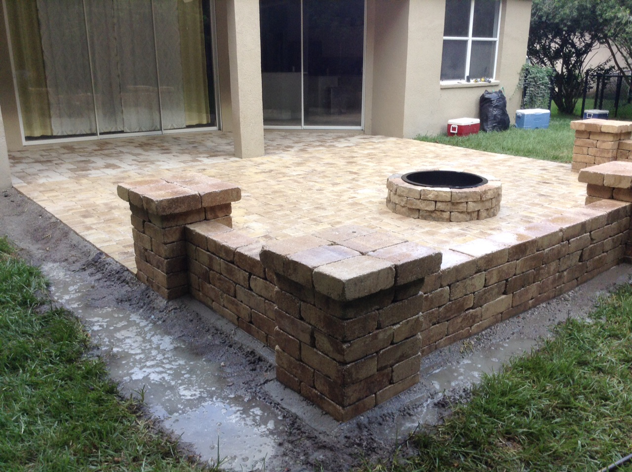 Adorable Concrete Patio Ideas On A Budget And Stone Patio Ideas On A regarding 15 Clever Tricks of How to Improve Stone Patio Ideas Backyard