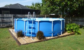 Backyard Above Ground Pool Landscaping Ideas Randolph Indoor And intended for Backyard Landscaping With Above Ground Pool