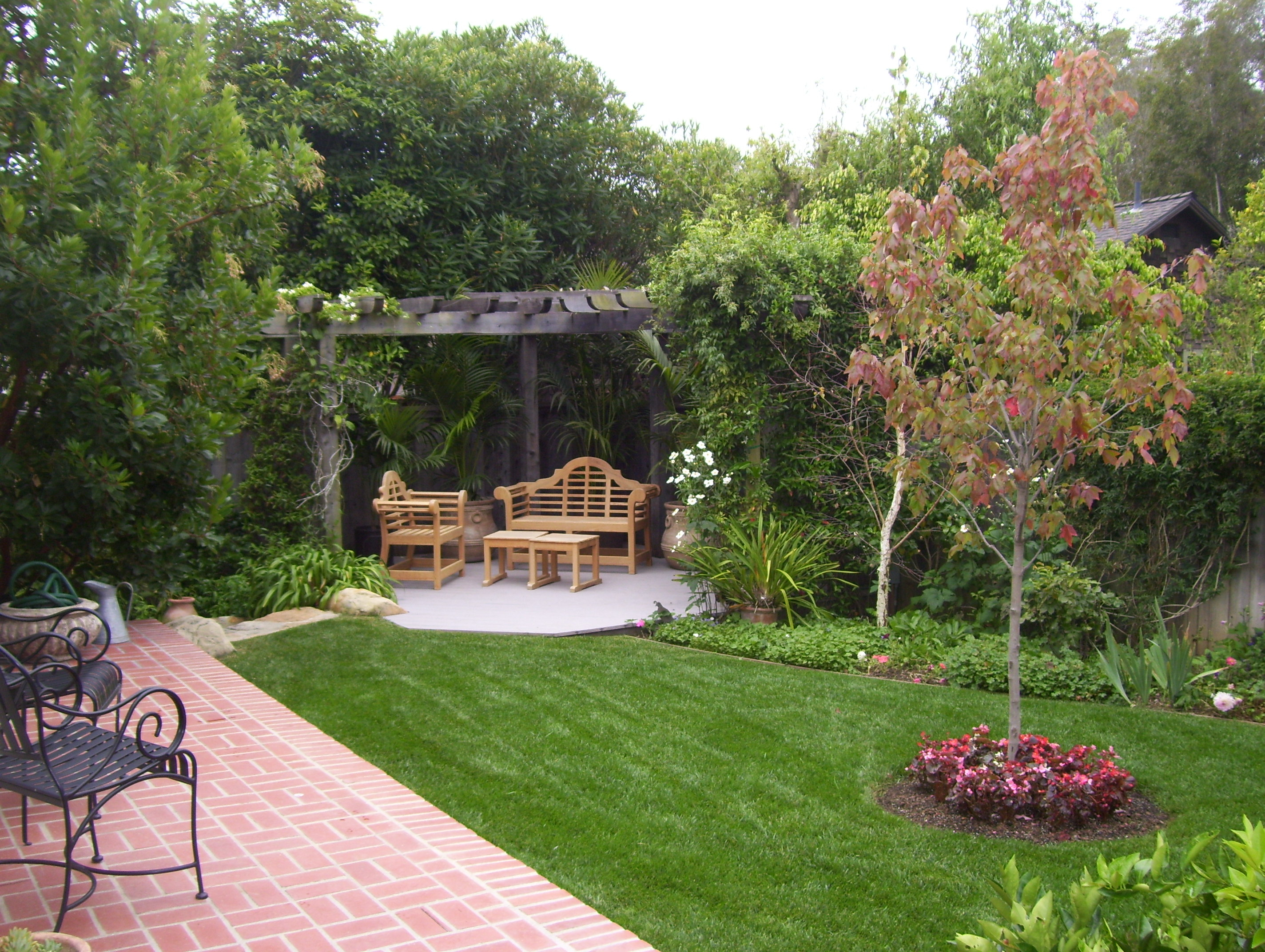 Backyard Landscaping Ideas Santa Barbara Down To Earth Landscapes inside 14 Awesome Tricks of How to Make Backyard Landscape Plans