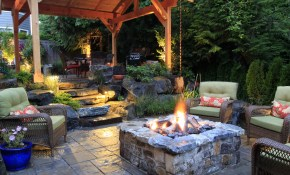 Backyard Landscaping Ideas With 2018 Backyard Landscaping Ideas With with regard to 10 Smart Ways How to Makeover Backyard Ideas With Fire Pits
