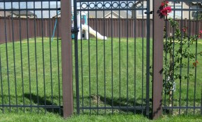 Backyard Metal Fence Gates All Home Decor Ideas To Insulate pertaining to 11 Clever Initiatives of How to Improve Backyard Metal Fence