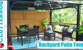 Backyard Patio Decorating Ideas Tips And Tour intended for 11 Genius Designs of How to Make Decorating Ideas For Backyard
