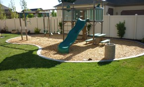 Backyard Playground In The Landscaping In South Jordan Utah In within 12 Smart Concepts of How to Upgrade Kid Friendly Backyard Ideas