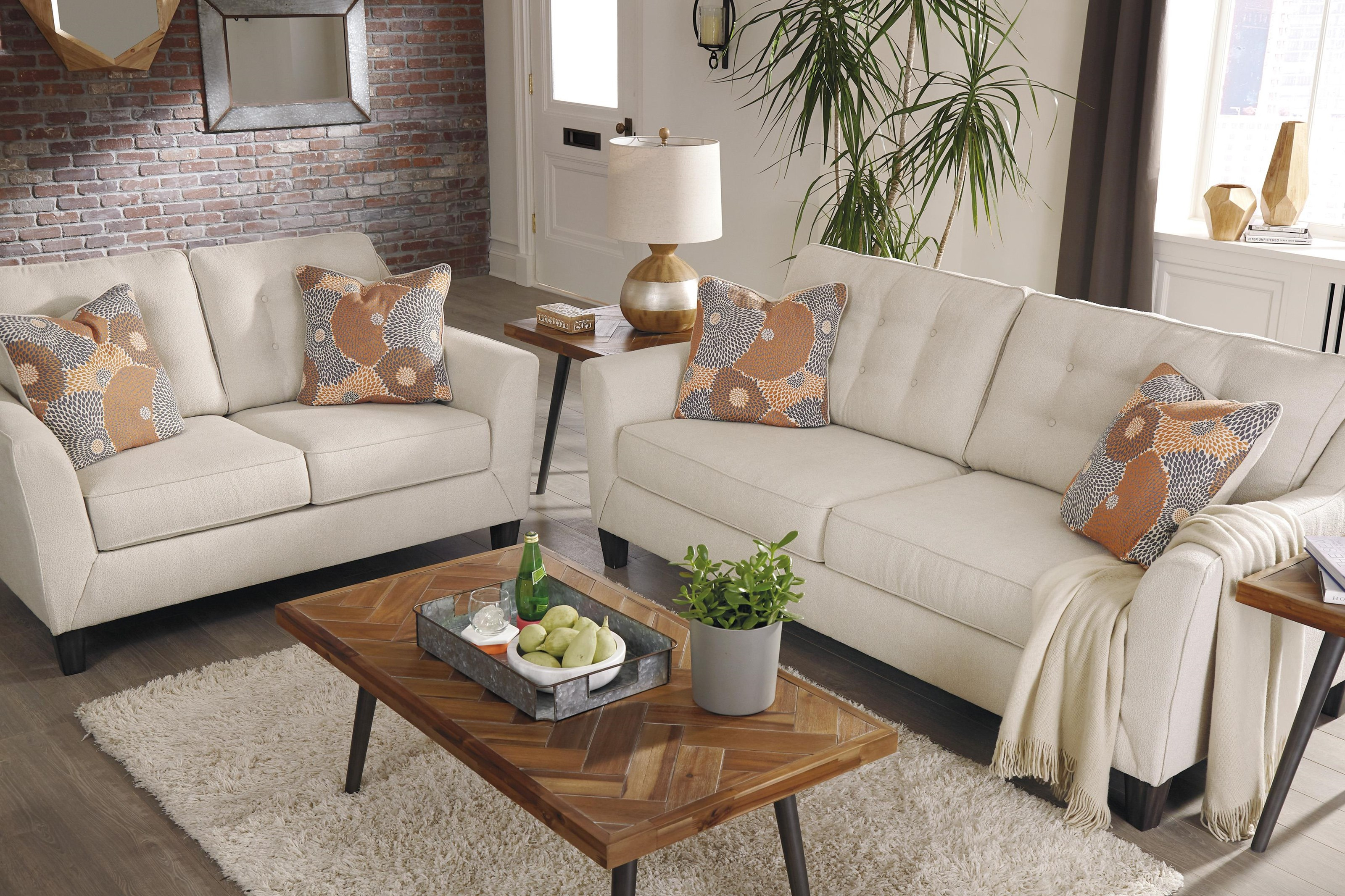 Benissa 6 Piece Living Room Set Ashley Signature Design At Dunk Bright Furniture intended for 14 Smart Ways How to Makeover Ashley Living Room Set