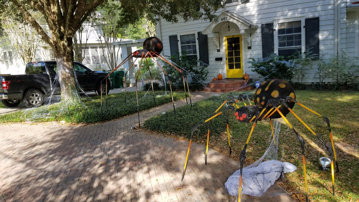 Brian Grill On Twitter Crushed It On Halloween Decorations Yes pertaining to Backyard Halloween Decorations