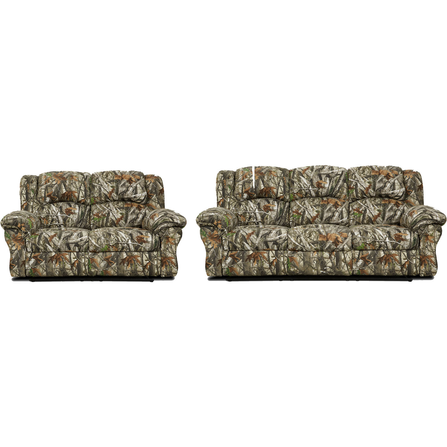 Cambridge Camo Two Piece Living Room Set Sofa Loveseat intended for 13 Genius Ways How to Improve Camouflage Living Room Sets