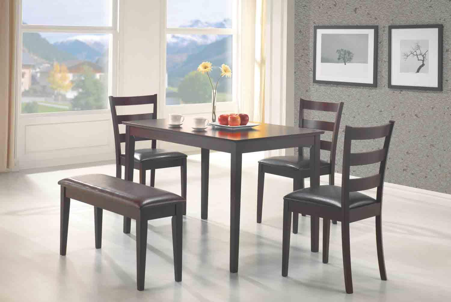 Coaster Taraval 5pc Dining Room Set with regard to 10 Clever Designs of How to Makeover Cheap Living Room Set