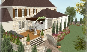Deck And Landscape Software Home Designer in Backyard Landscape Software