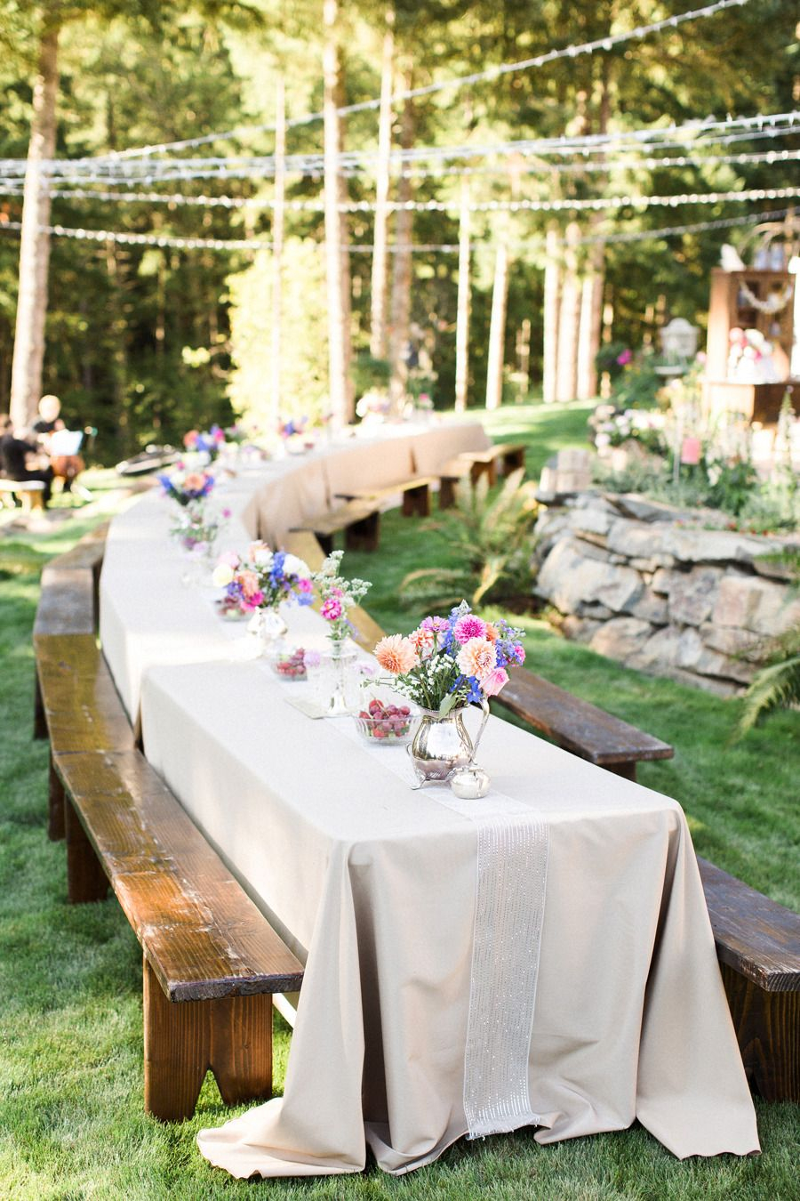 Diy Backyard Oregon Wedding Boho Wedding Backyard Wedding regarding DIY Backyard Wedding Decorations