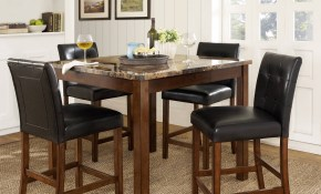 Dorel Living Andover 5 Piece Counter Height Dining Set Multiple Colors with Very Cheap Living Room Sets