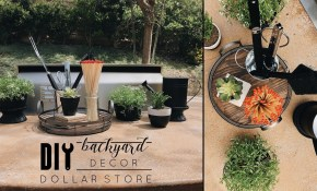 Easy Diy Dollar Store Backyard Decor with 11 Awesome Ideas How to Upgrade Backyard Decor