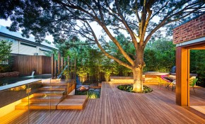Family Fun Modern Backyard Design For Outdoor Experiences To Come pertaining to 10 Clever Initiatives of How to Build Contemporary Backyard Ideas