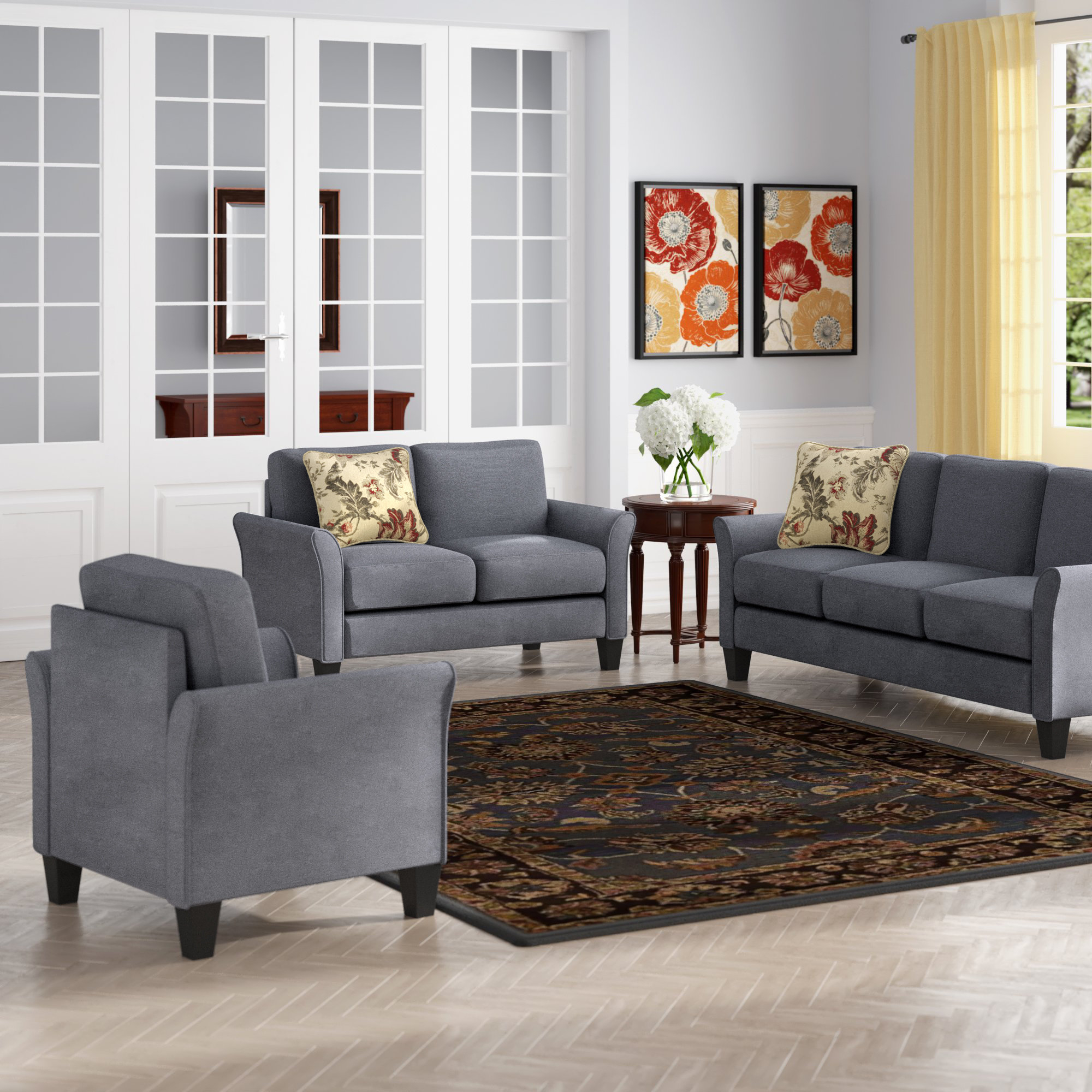 Goldnilla 3 Piece Living Room Set intended for 11 Smart Tricks of How to Craft Deals On Living Room Sets