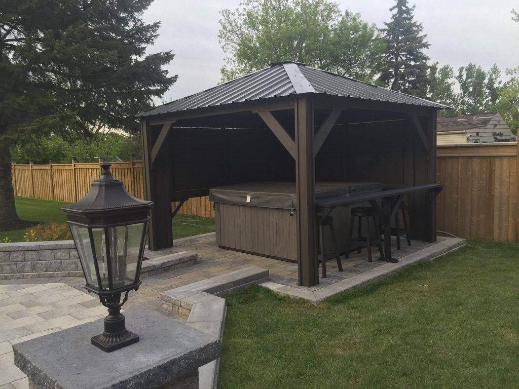 Hot Tub Gazebo Backyard Idea Spa Hot Tubs Hot Tub Gazebo Hot with Ideas For Gazebos Backyard
