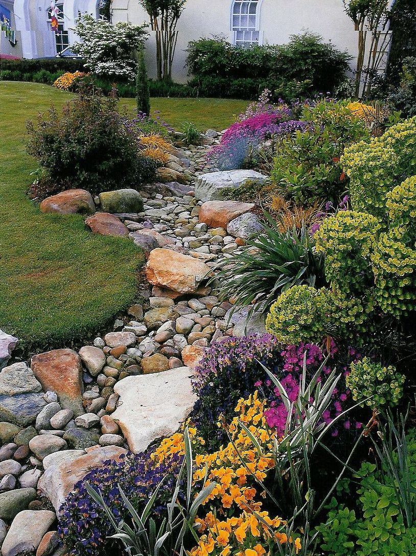 How To Install A Dry Creek Bed Home Sweet Mess Yard Landscaping inside 14 Some of the Coolest Ways How to Build How To Landscape A Backyard