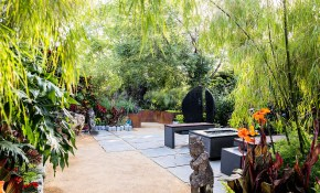 Ideas For A Tropical Garden Sunset Magazine inside Backyard Tropical Ideas