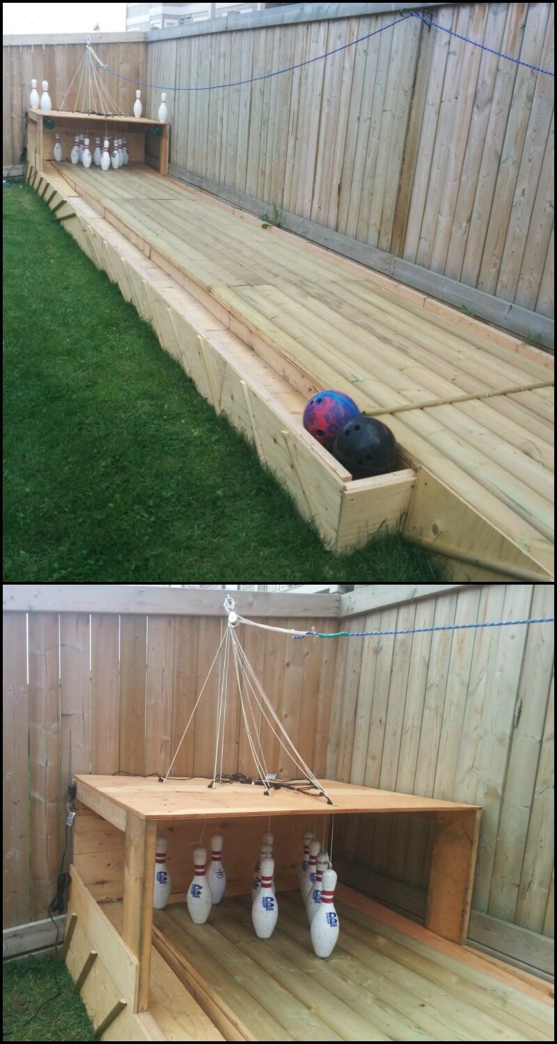 Incredible Backyard Diy Bowling Lane Home In 2019 Backyard Games intended for 11 Clever Ways How to Makeover Backyard Game Ideas