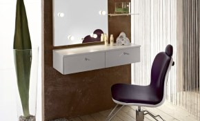 Makeup Table In Contemporary Minimalist Dresser Design Bedroom throughout 14 Some of the Coolest Concepts of How to Upgrade Modern Bedroom Vanity Set