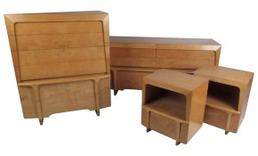 Mid Century Modern Burl Maple Bedroom Set In The Style Of Heywood Wakefield pertaining to 15 Some of the Coolest Ideas How to Makeover Mid Century Modern Bedroom Set