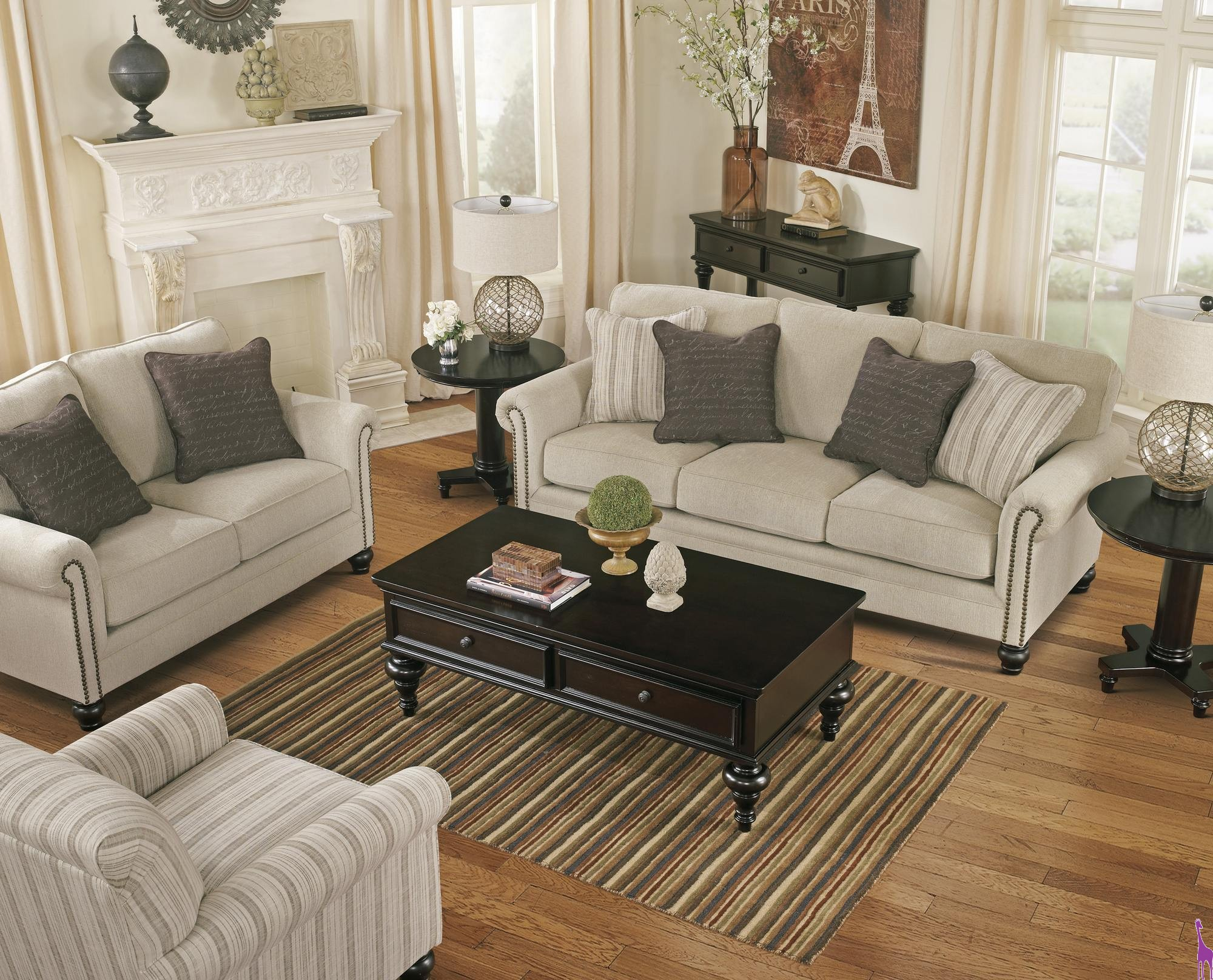 Milary Living Room Set Ashley 130 throughout 14 Smart Ways How to Makeover Ashley Living Room Set