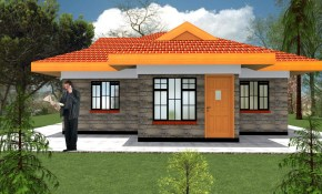 Modern 2 Bedroom House Plans Design Hpd Consult inside 2 Bedroom Modern House Plans