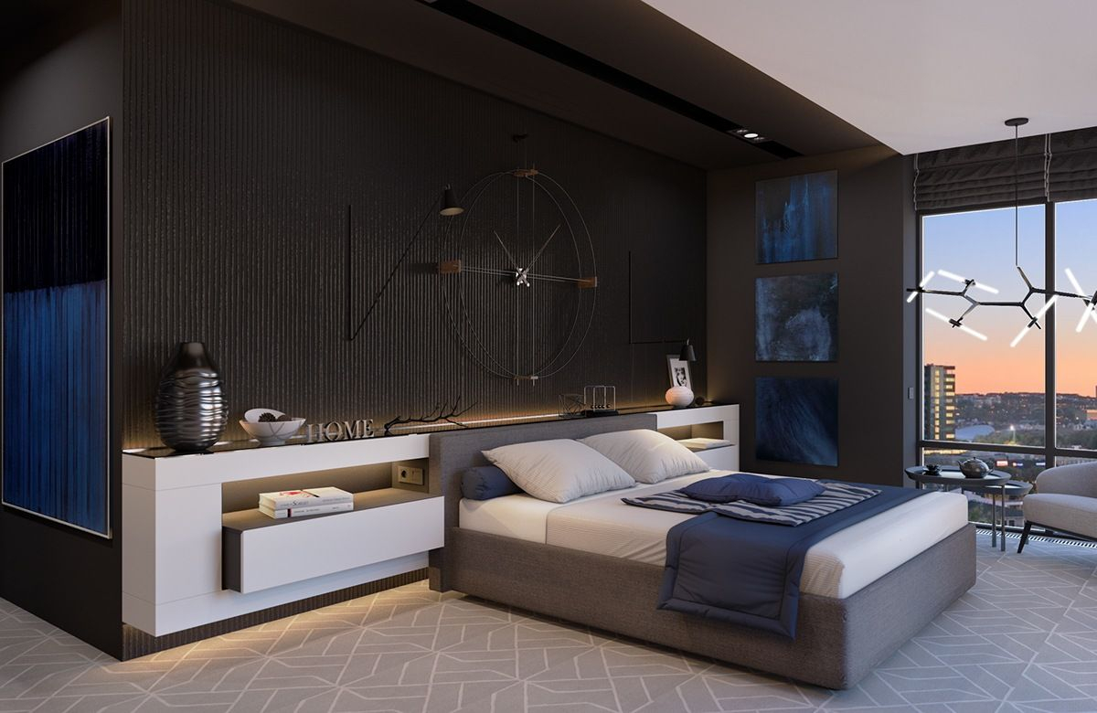 Modern And Minimalist Bedroom Decorating Ideas So Inspiring You in Modern Bedroom Wallpaper Ideas