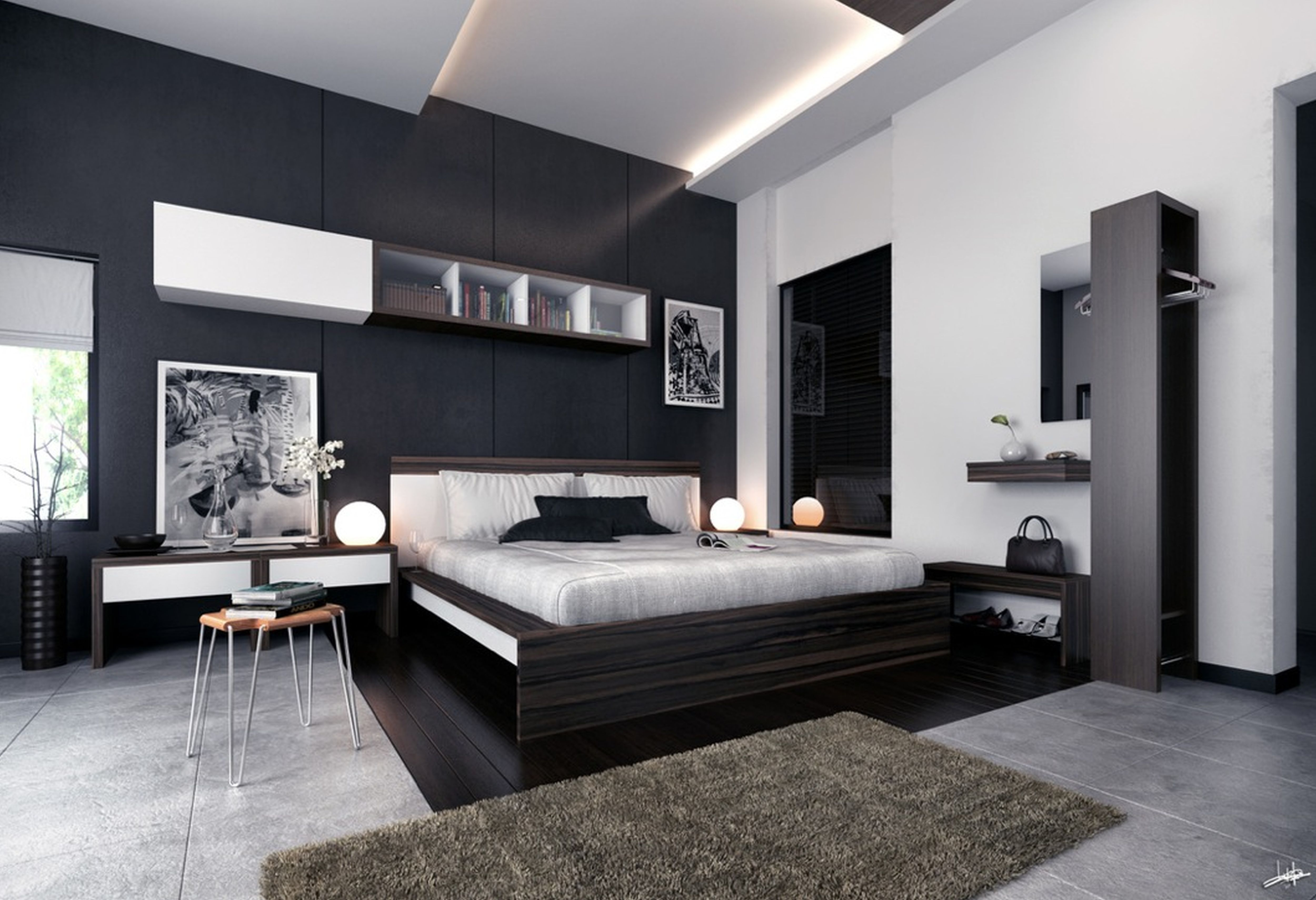 Modern Black And White Bedroom Ideas with 15 Awesome Ideas How to Improve Modern Ideas For Bedrooms