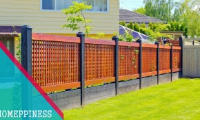 New Design 2017 25 Modern Front Yard Fence Ideas with Backyard Fence