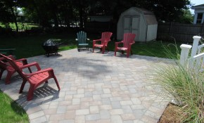 Patio Installed At Braintree Home Mento Landscape Paving Inc throughout 11 Some of the Coolest Concepts of How to Improve Backyard Flooring Landscaping