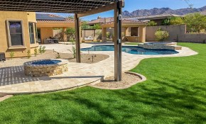 Phoenix Landscaping Designs Outdoor Kitchens And Pavers with 10 Smart Concepts of How to Makeover Arizona Backyard Landscaping