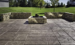 Sealing A Stamped Concrete Patio Ideas Design Idea And Decor within Backyard Stamped Concrete Patio Ideas