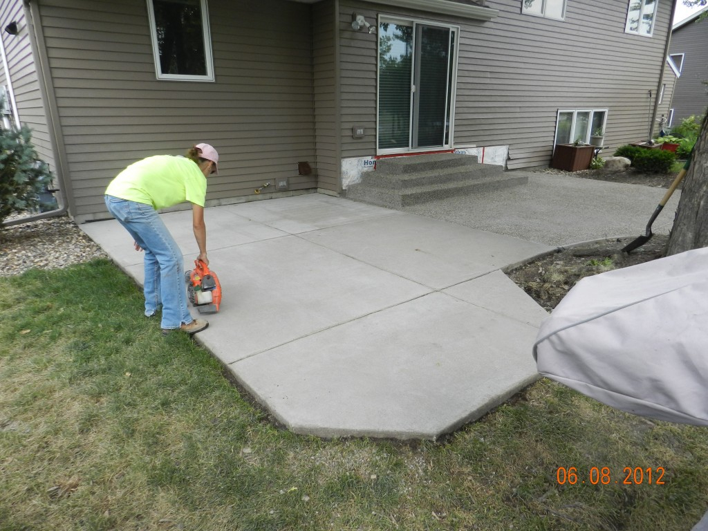 Secrets Diy Concrete Patio Ideas Home Design regarding Backyard Concrete Ideas